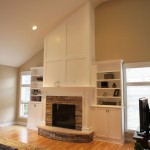 Fireplace remodeled